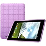Asus Memo PAD 172V Case - Poetic Asus Memo PAD 172V Case [GraphGRIP Series] - [Lightweight] [GRIP] Protective Silicone Case for Asus Memo PAD 172V Purple (3 Year Manufacturer Warranty From Poetic)