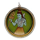 Redbag Lord Shiva - Silver Pendant ( 4.45 Cm, 4.45 Cm, 1.27 Cm )