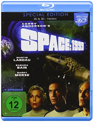 SPACE: 1999 in Real 3D-Special Edition (Episoden 1 - 4) (Blu-ray)