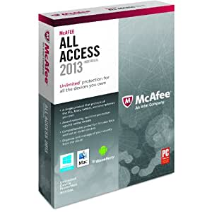 McAfee All Access Individual 2013