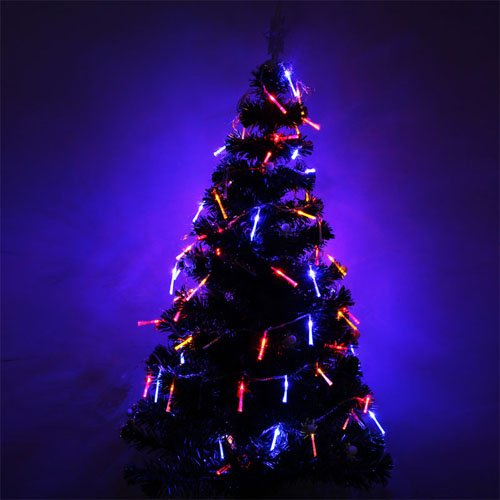Colorful 10M 100 Leds Fiber Optic Led String Christmas Holiday Decoration Lights Multi-Color