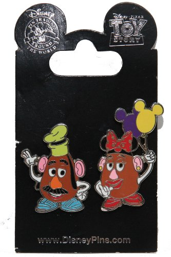 Toy Story Mr And Mrs Potato Head front-802573