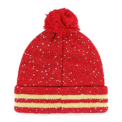 NFL Women's '47 Amelia Cuff Knit Beanie with Pom
