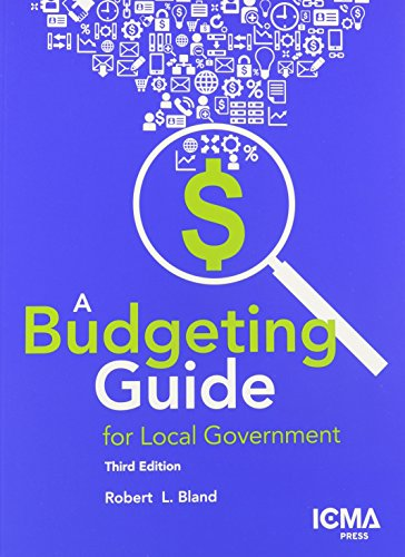 A Budgeting Guide for Local Government PDF