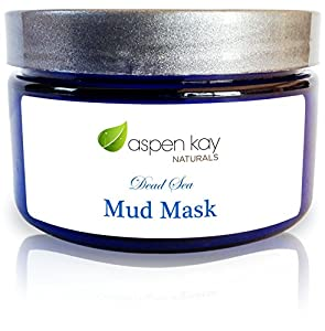 SALE! Dead Sea Mud Facial Mask. 100% Organic & Natural. With Organic Honey, Chamomile, Calendula, Unrefined Rosehip & Jojoba Oil. Anti Aging Mud Mask. For Acne, Rosacea, Eczema & Psoriasis. 4oz Jar.