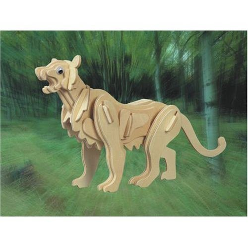 Mountain Lion 3D Woodcraft Construction Kit - Buy Mountain Lion 3D Woodcraft Construction Kit - Purchase Mountain Lion 3D Woodcraft Construction Kit (Puzzled by Creative Ventures, Toys & Games,Categories,Construction Blocks & Models,Construction & Models,Animals & Insects)