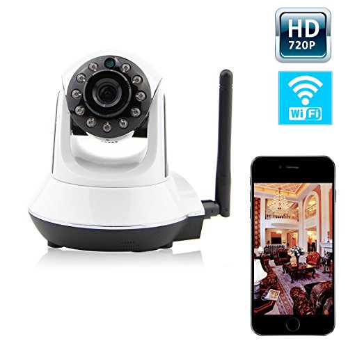 Discover Bargain AutoGeneral 1 Megapixel 720P HD Night Vision Wireless IP Pan/Tilt Network Internet ...