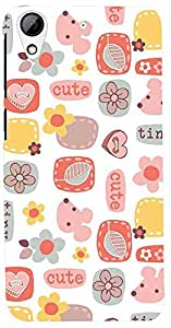 PRINTVISA Pattern Abstract Cute Case Cover For HTC Desire 626