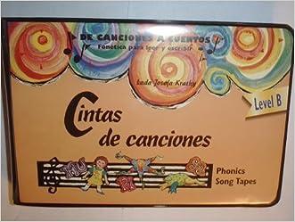 Cintas de canciones. De Canciones A Cuentos, Fonetica para leer y escribir, Phonics Song Tapes, Level B