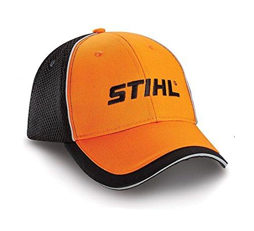 Men's STIHL Hat / Cap ( Orange / Black Mesh) - 8401558 (Stihl Cap compare prices)
