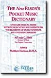 img - for Elson's Pocket Music Dictionary book / textbook / text book
