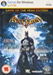 Batman Arkham Asylum Game of The Year...