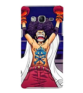 EPICCASE Angry Fighter Mobile Back Case Cover For Samsung Tizen Z3 (Designer Case)