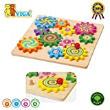 Viga Wooden Spinning Gears & Cogs Puzzle #59854