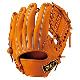 ZETT(ゼット) 軟式グラブPROSTATUS二塁手・遊撃手用 BRGB30410 5600(オレンジ) LH(右投用)