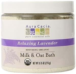 Aura Cacia Aura Cacia Soothing Milk And Oat Bath Jar, 9.75 Ounce