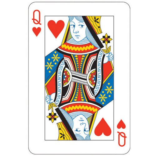 "21"" Queen Card Cutout - 1"