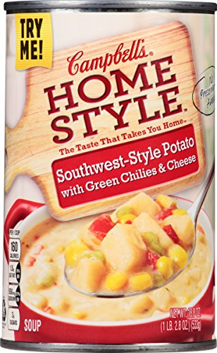 Campbell's Homestyle Soup, Southwest-Style Potato with Green Chilies & Cheese, 18.8 Ounce (Pack of 12) (Chicken West compare prices)
