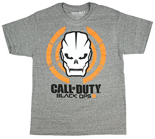 Black OPS III Skull T-Shirt