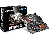 ASRock Intel H110チップセット搭載 MicroATXマザーボード H110M-HDV ランキングお取り寄せ