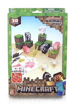 Minecraft Papercraft (Over 30 Pieces) by Minecraft