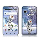 Olaf Design Protective Decal Skin Sticker for Samsung Galaxy Player 5.0 Android MP3 Player