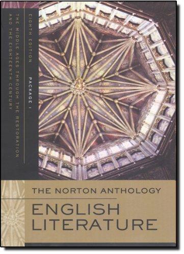 The Norton Anthology of English Literature (Eighth...