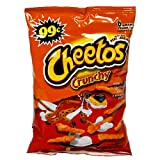 Cheetos Cheese Snacks, Crunchy, 2.857-Ounce Large Value Line Bags (Pack of 34) ~ Cheetos