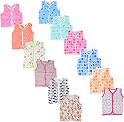 First Step Baby Vest (Set of 12)