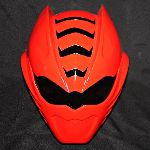 1:1 Halloween Costume Cosplay Power Ranger Helmet Mask Red Sentai Jungle Fury PR12