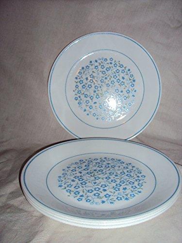 "Corelle Blue Heather Luncheon Plates 8.5"" Set/4"