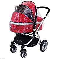Universal Raincover Zipped To Fit iSafe Pram System
