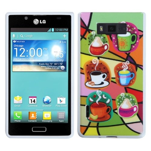 Asmyna LGUS730CASKCAIM1108NP Premium Slim and Durable Protective Cover for LG Splendor/Venice S730 - 1 Pack - Retail Packaging - Coffee/Tea