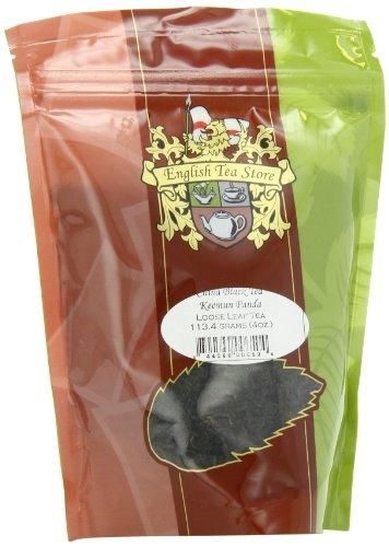 English Tea Store Loose Leaf, Keemun Panda China Black Tea Pouches, 4 Ounce