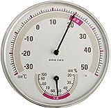 ドリテック(dretec) アナログ 温湿度計 ホワイト O-310WT