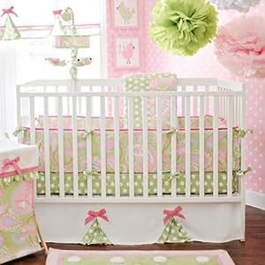 Amazon Com My Baby Sam 4 Piece Pixie Baby Crib Bedding