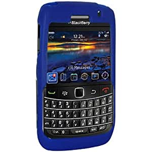 Amzer 85362 Silicone Skinelly Case - Blue for BlackBerry Bold 9780, BlackBerry Bold 9700