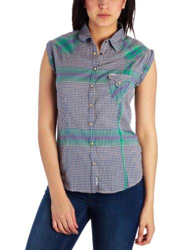 Wrangler Sari Women's Shirt Baja Blue Small