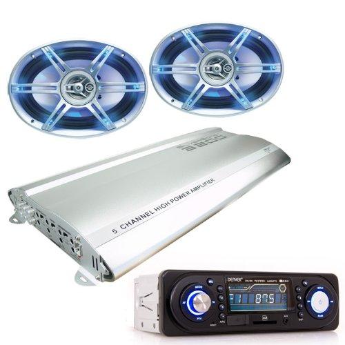 3200W Auto Musikanlage Radio USB SD Verstärker