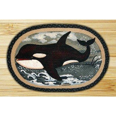 Orca Novelty Rug Rug Size: 1'8