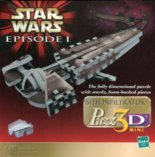 Star Wars Episode I: Sith Infiltrator Puzz3D 3D Puzzle - 1