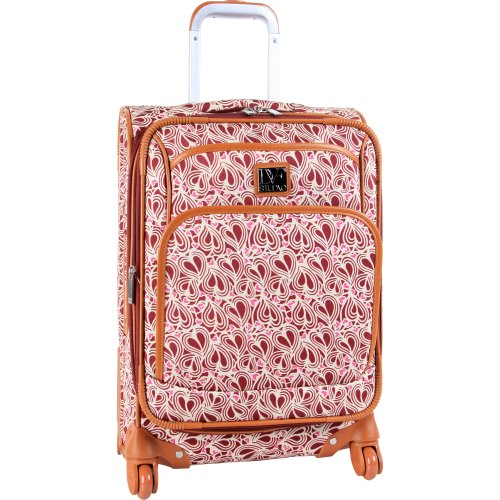 88a9df05de Diane Von Furstenberg Luggage Dvf Baby Hearts Vintage 20 Inch Expandable  Spinner