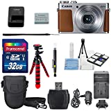 Canon PowerShot G9 X Digital Camera with 3x Optical Zoom, Built-in Wi-Fi USA Warranty +Total of 32GB SDHC & AC/DC Travel Charger + Deluxe Accessory Bundle
