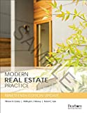 img - for Modern Real Estate Practice 19th Edition UPDATE book / textbook / text book