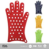 Special 2-Day Sale: Only $17! (use promo BUY20OFF) - Exclusive: Women's Silicone Oven Gloves (1 Pair). Finally! Oven Mitts/Pot Holders Designed Specifically to Fit Ladies' Hands. Ultra Flexible and Heat Resistant (Coral Red, XS/S)