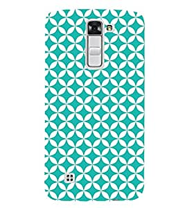 Heavy Green Circle Cute Fashion 3D Hard Polycarbonate Designer Back Case Cover for LG K7 :: LG K7 Dual SIM :: LG K7 X210 X210DS MS330 :: LG Tribute 5 LS675