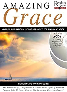 Readers Digest Piano Library: Amazing Grace - Piano and Voice Songbook/2-CD Pack
