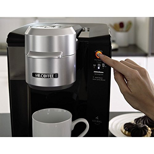 Coffee Maker With Keurig Technology : Mr. Coffee Single Serve Coffee Brewer Powered by Keurig Brewing Technology by Jarden Consumer ...
