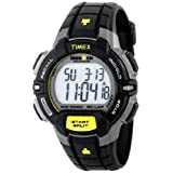 Timex Men's T5K790 Ironman Traditional 30-Lap Rugged Full-Size Black/Yellow Watch