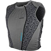 Amazon.com: Leatt Coolit Evaporative Cooling Vest Men's Undergarment Street Racing Motorcycle Body Armor - Grey / X-Large: Automotive